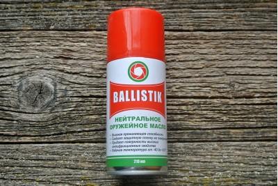 Масло оружейное Ballistik 210мл (нейтральное)