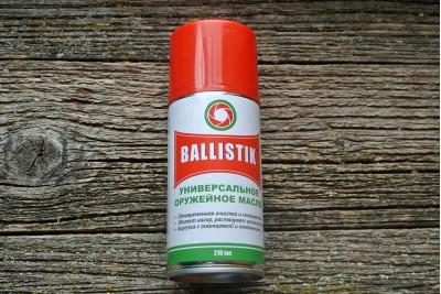 Масло оружейное Ballistik 210мл (универсальное)
