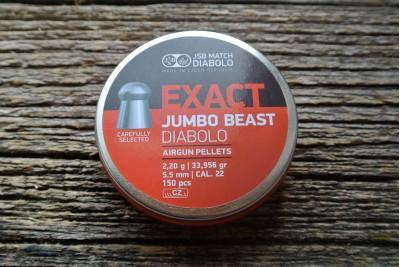 Пули для пневматики JSB Exact Jumbo Beast 5, 52мм 2, 2г (150шт)