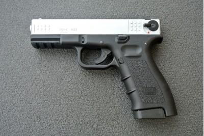 Оружие списанное охолощенное К17 СО Хром под патрон 10ТК (Курс-С)