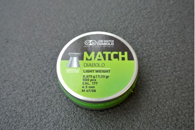 Пули для пневматики JSB Green Match Diabolo 4, 5мм 0, 475г (500шт)