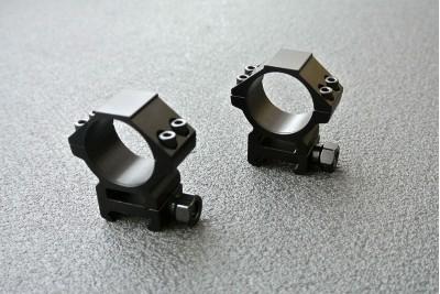 Кольца Leapers Weaver/Picatinny, средние (RGWM-30M4)