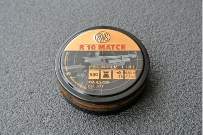 Пули для пневматики RWS R10 MATCH Premium Line, кал. 4, 49мм 0, 53 гр (500шт)
