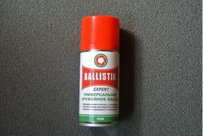 Масло оружейное Ballistik EXPERT спрей 210мл (универсальное)
