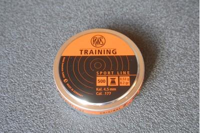 Пули для пневматики RWS Training 4, 5мм 0, 53гр (500шт)