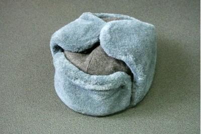 Шапка зимняя солдатская (ушанка) 58р