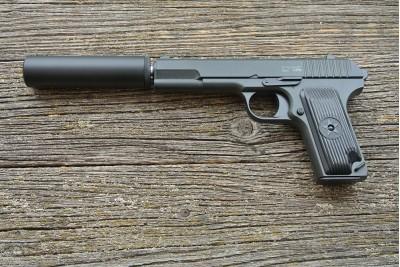 Пистолет пневматический Stalker SATTS (аналог TT) +модератор кал. 6мм