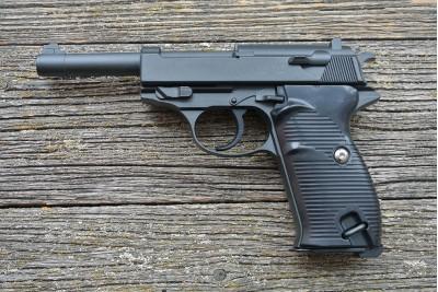 Пистолет пневматический Stalker SA38 (аналог Walther P38) кал. 6мм