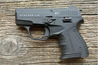 Пистолет сигнальный Zoraki STALKER самозарядный (вороненый)