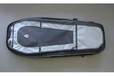 Чехол-рюкзак Leapers UTG на одно плечо, 86x35, 5 см, цвет серый металлик/черный