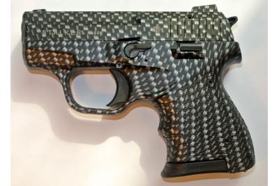 Пистолет сигнальный самозарядный Zoraki STALKER (карбон)