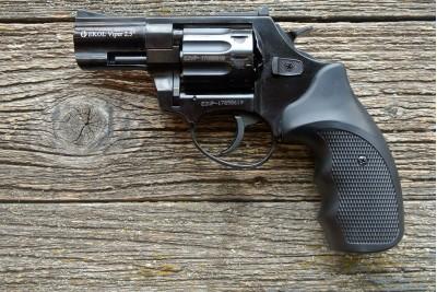 Револьвер сигнальный EKOL Viper калибр 5, 6мм, черный
