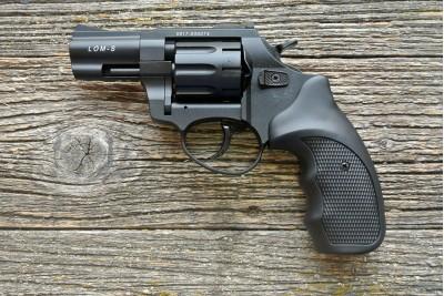 Револьвер сигнальный Zoraki LOM-S 5, 6 мм (черный)