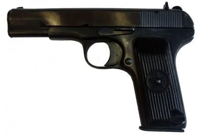 Пистолет сигнальный ТТ-С с кобурой, магазином и металл. фальш-патронами