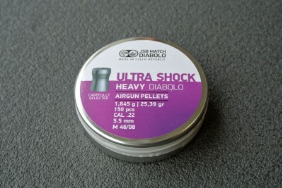 Пули для пневматики JSB Shock Heavy 5, 52мм 1, 645г (150шт)