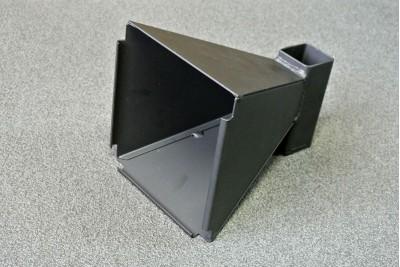 Пулеулавливатель 140x140 конический, сталь