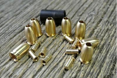 Картридж латунный МР-371 для автоматической стрельбы (8шт)