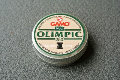Пули для пневматики Gamo Olimpic 4, 5мм 0, 49г (250шт)