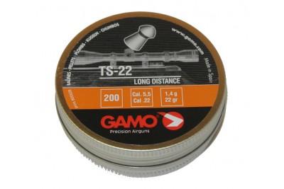Пули для пневматики GAMO TS-22 5, 5мм 1, 4гр (200 шт)