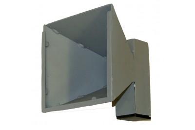 Пулеулавливатель 170x170 конический сталь 2мм (SW-PUR-2)