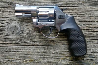 Револьвер сигнальный EKOL Viper калибр 5, 6мм, хром