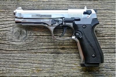 Пистолет сигнальный охолощенный Beretta B92-CO EKOL Viper кал 9мм, патрон 10ТК, хром (Курс-С)