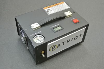 Компрессор воздушный 12В 30МПа черный
