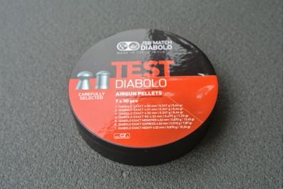 Набор тестовых пуль JSB Match Test Diablo 4, 5мм