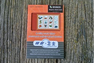 Сирена персональная Alarm Card C330S с фотодатчиком