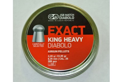 Пули для пневматики JSB King Heavy 6, 35мм 2, 2г (300шт)
