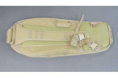 "Чехол-рюкзак Leapers UTG на одно плечо, полиэстр, 86x35, 5 см, цвет ""Dark Earth"" (пустыня)"