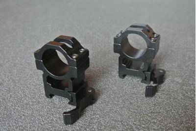 Кольца на Вивер, высокие, быстросъемные BH-RS24