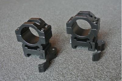 Кольца на Вивер, средние, быстросъемные BH-RS42