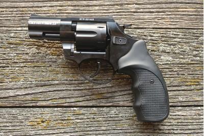 Револьвер сигнальный Zoraki R1 калибр 9PA  б/у + кобура и 25 патронов