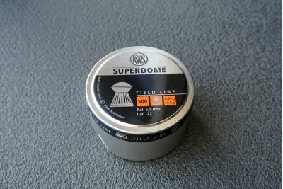 Пули для пневматики RWS Superdome 5, 5мм 0, 94гр (500шт)