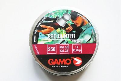 Пули для пневматики GAMO Pro Hunter 5, 5мм 1, 0гр (250 шт)
