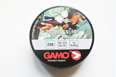 Пули для пневматики GAMO Pro Magnum 5, 5мм 1, 0гр (250 шт)