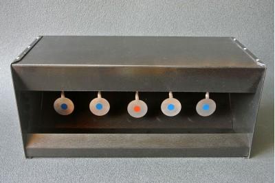 Мини тир автомат с биатлонными мишенями К 2мм