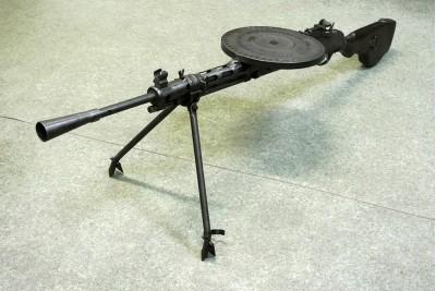 Пулемет Дегтярева пехотный ММГ списанный, учебный 1942 г.в.
