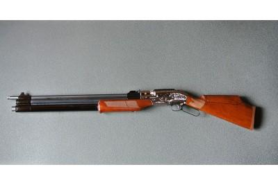 Винтовка пневматическая Sumatra 2500 Long кал. 6, 35 мм с кейсом  Б/У