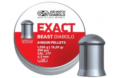 Пули для пневматики JSB Exact Beast Diabolo 4, 5мм 1, 05г (250 шт)