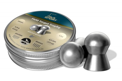 Пули для пневматики H&N Field Target Trophy 4, 5мм 0, 56гр. (500 шт)