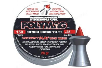 Пули для пневматики JSB Predator Polymag 6, 35мм 1, 645 г (150шт)