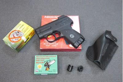 НАБОР: Пистолет  Пионер+ БАМ+ Кобура+ ГРОМ