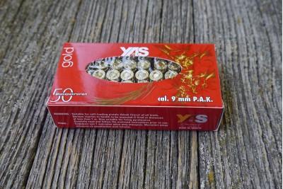 Патрон светозвуковой 9мм PAK Gold (50шт)