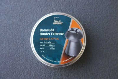 Пули для пневматики H&N Baracuda Hunter Extreme 4, 5мм 0, 62гр. (400 шт)