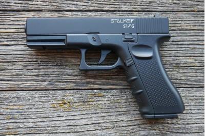 Пистолет пневматический Stalker S17G (Glock17) 4, 5мм