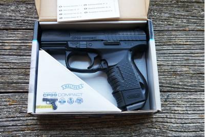 Пистолет пневматический Walther CP99 Compact кал. 4, 5мм Б/У