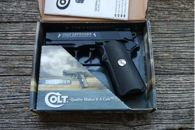 Пистолет пневматический Colt Defender кал. 4, 5мм Б/У