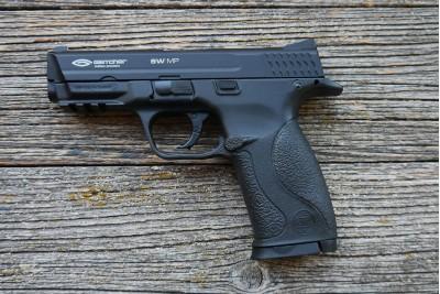 Пистолет пневматический Gletcher SW MP металл кал. 4, 5мм Б/У